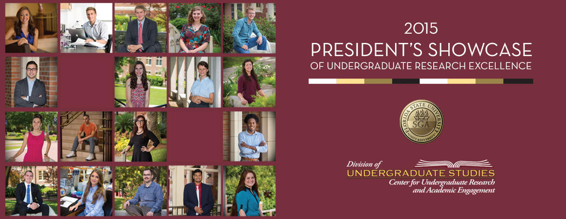 2015 President's Showcase of Undergraduate Research Excellence